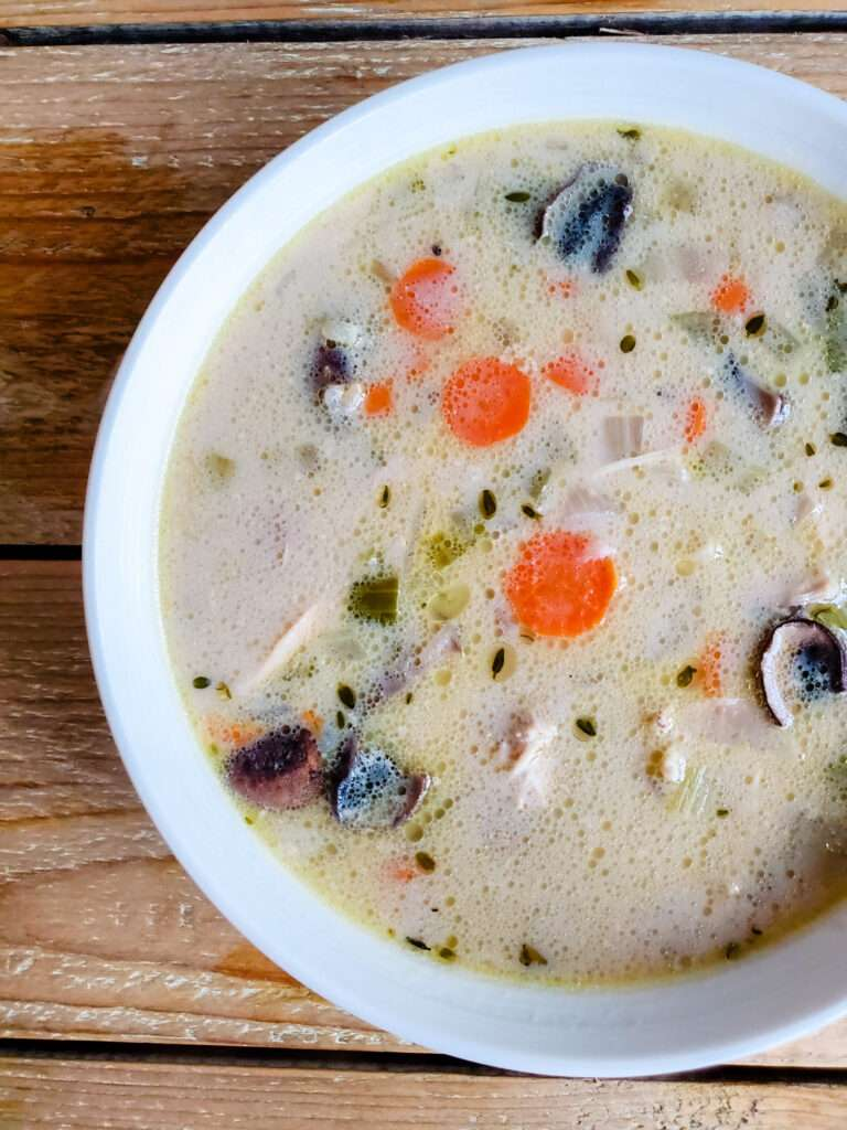 Turkey and Wild Rice Soup