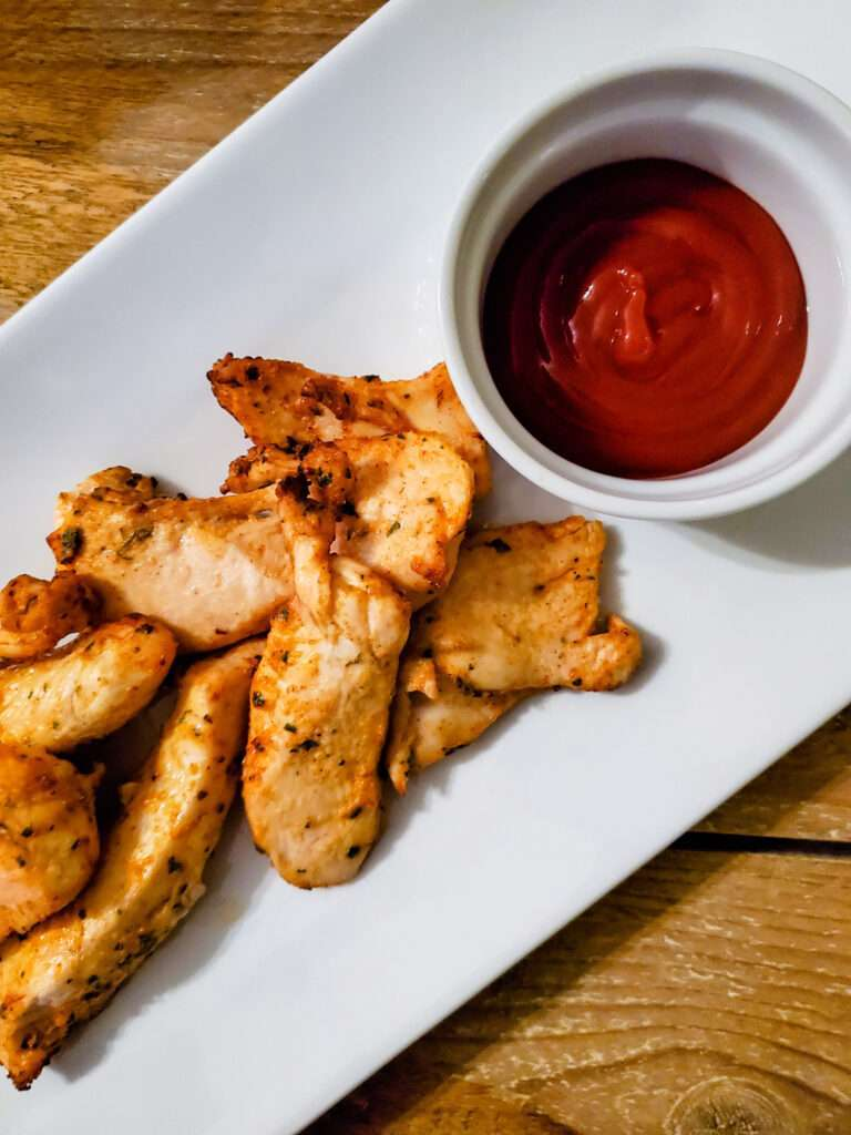 Chicken Strips Without Breading