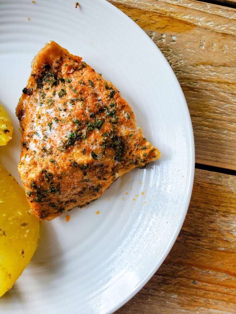 Simple Spice Rubbed Salmon