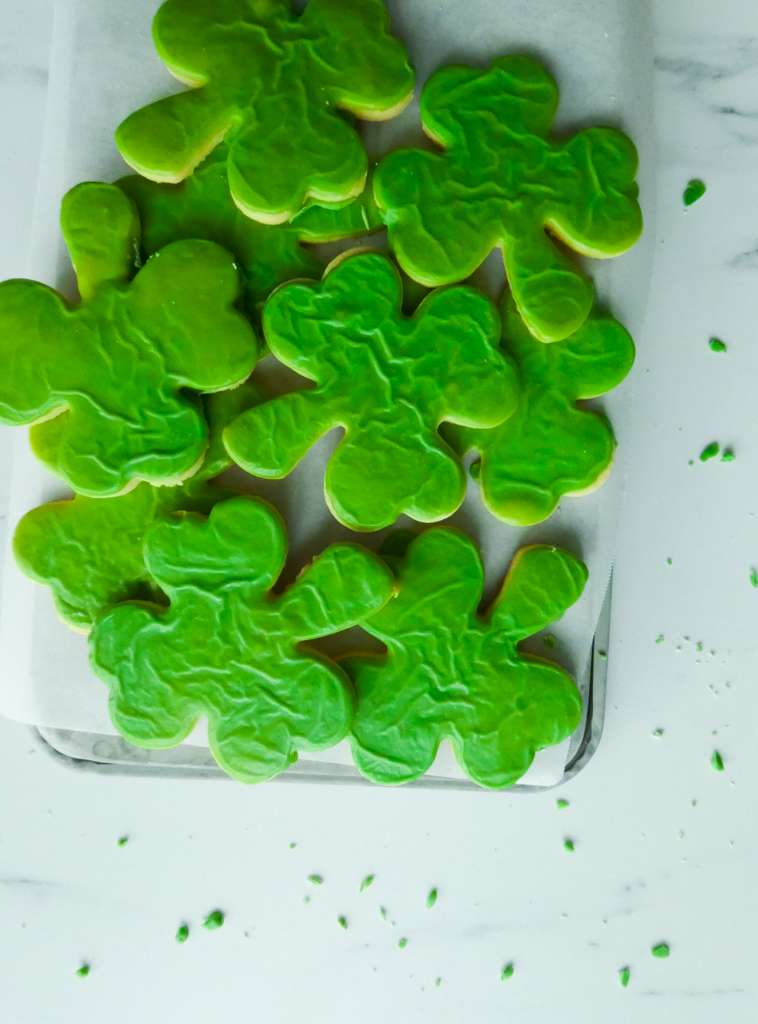 Sugar Cookies with Bailey's Icing