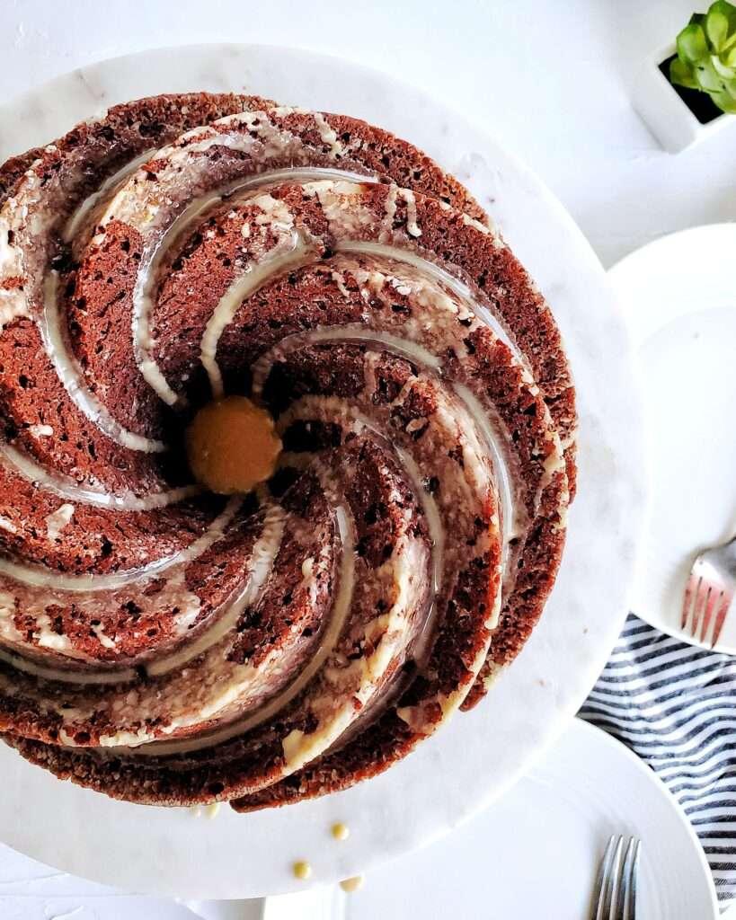Guinness Chocolate Cake with Bailey's Glaze