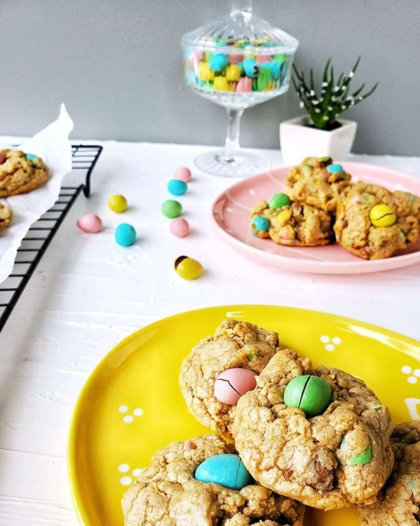 Mini Egg Bisquick Cookies