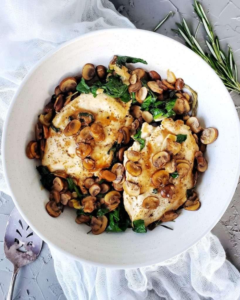 Copycat Olive Garden Garlic Rosemary Chicken