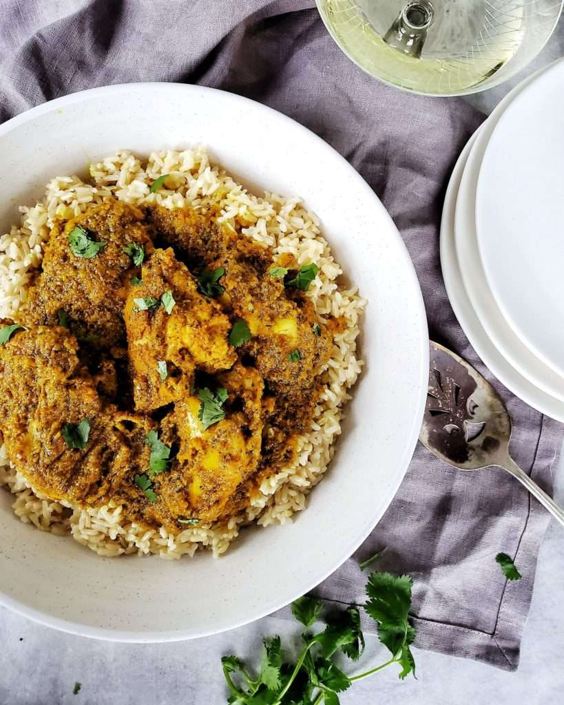 Trinidadian Style Curry Chicken