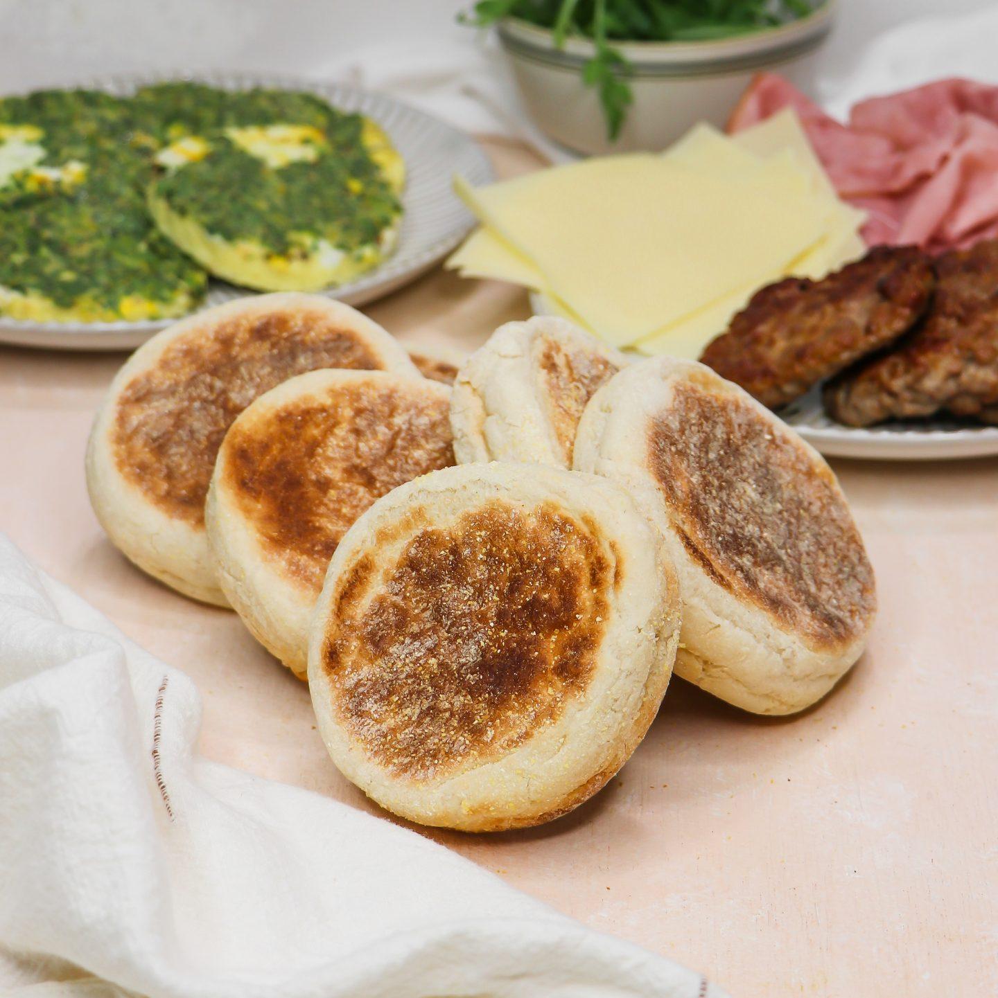 Meal Prep Breakfast Sandwiches (Freezer Friendly)
