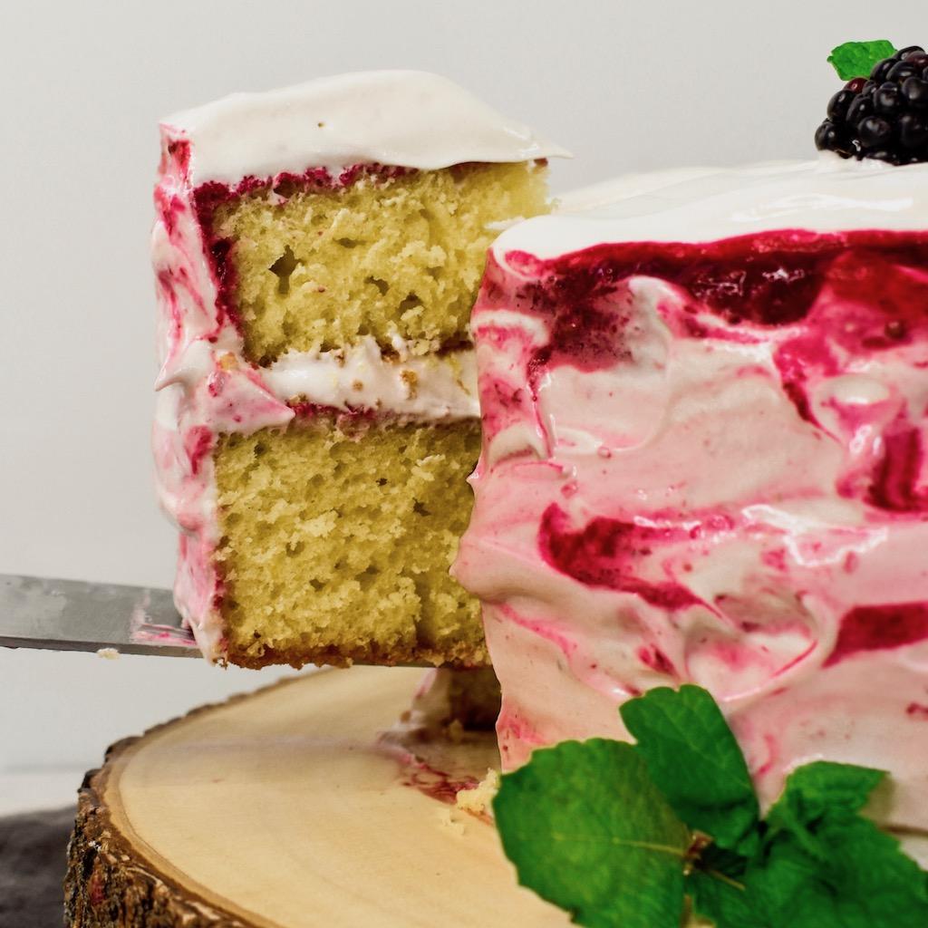 Blackberry Lemon Olive Oil Cake Recipe