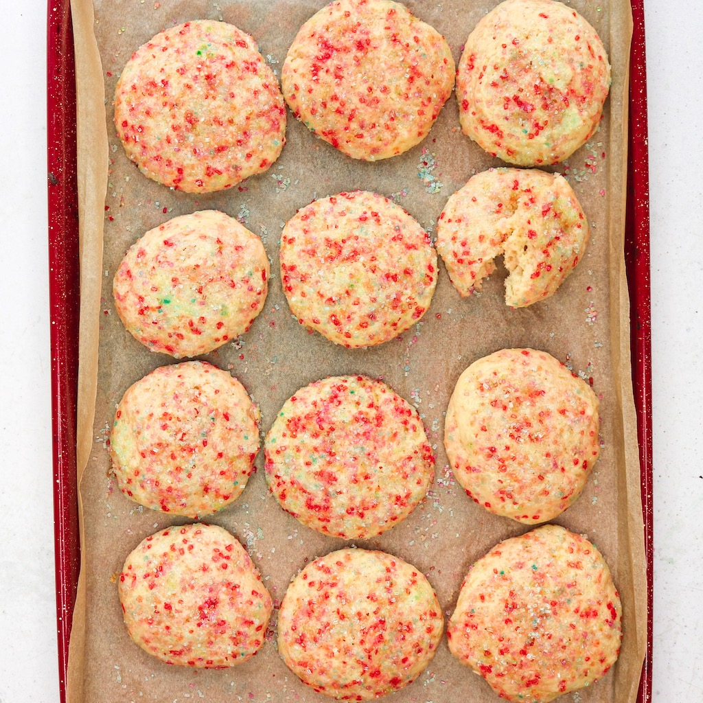 Confetti Birthday Cake Cookie Recipe The BEST EVER birthday cake recipe