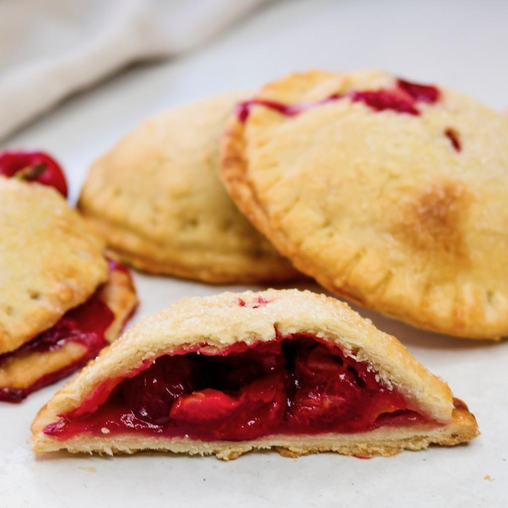 Healthy Cherry Hand Pies Recipe
