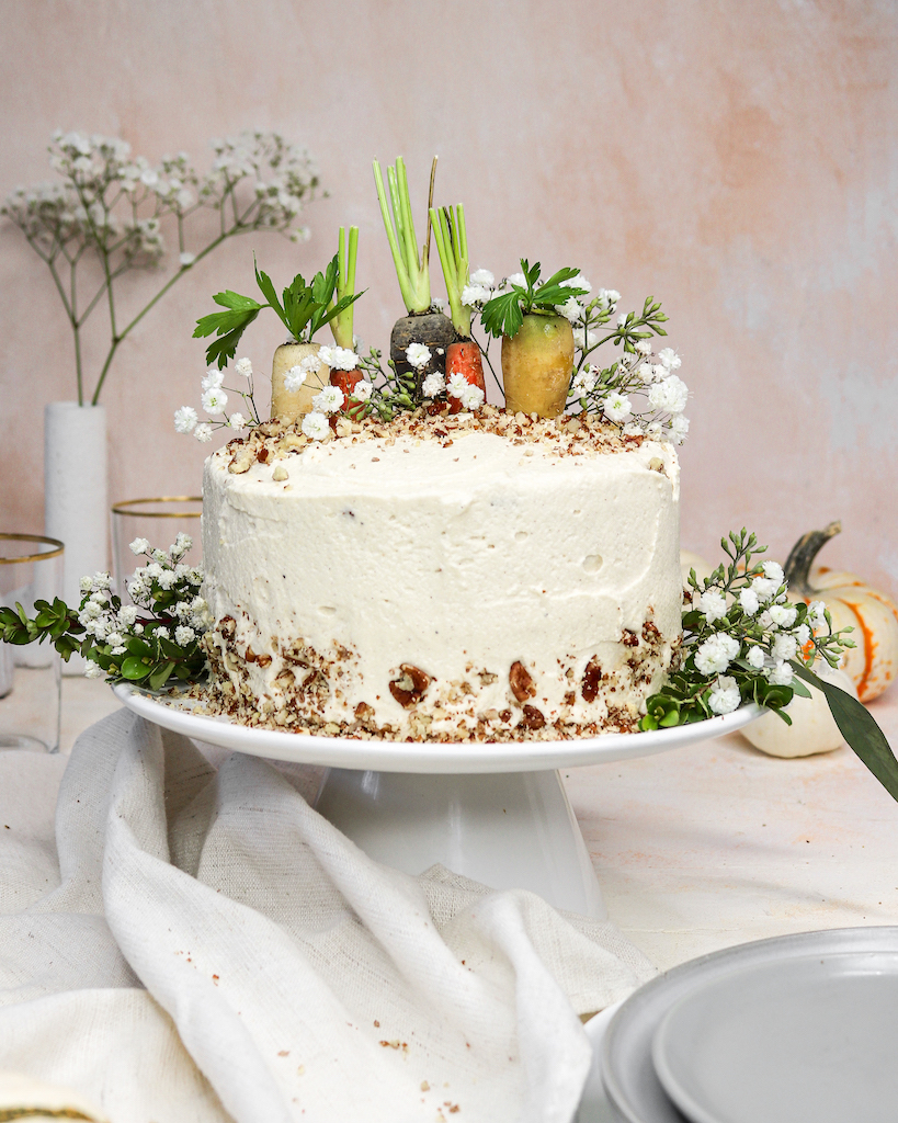 Healthy Olive Oil Carrot Cake