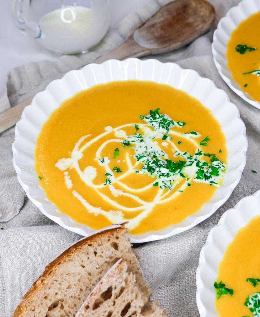Roasted Butternut Squash Soup (Dairy-Free)