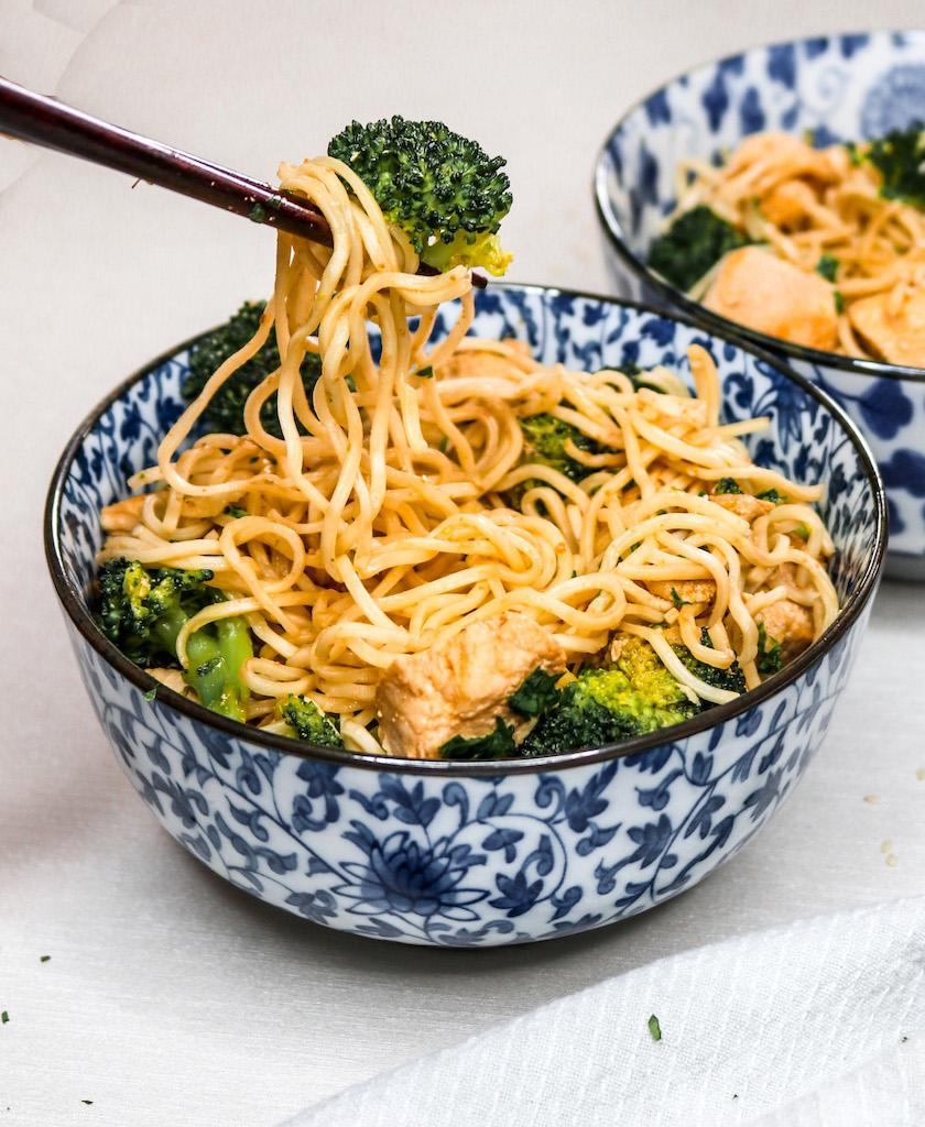 The EASIEST Chicken Ramen Noodles