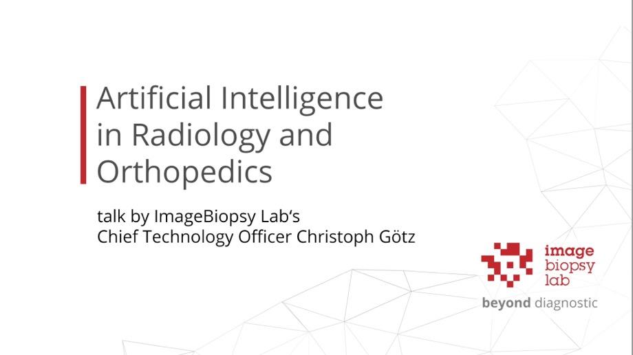AI in Radiology and Orthopaedics