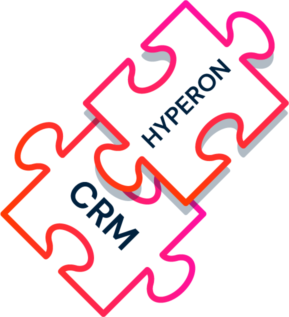 Hyperon integrates with any CRM