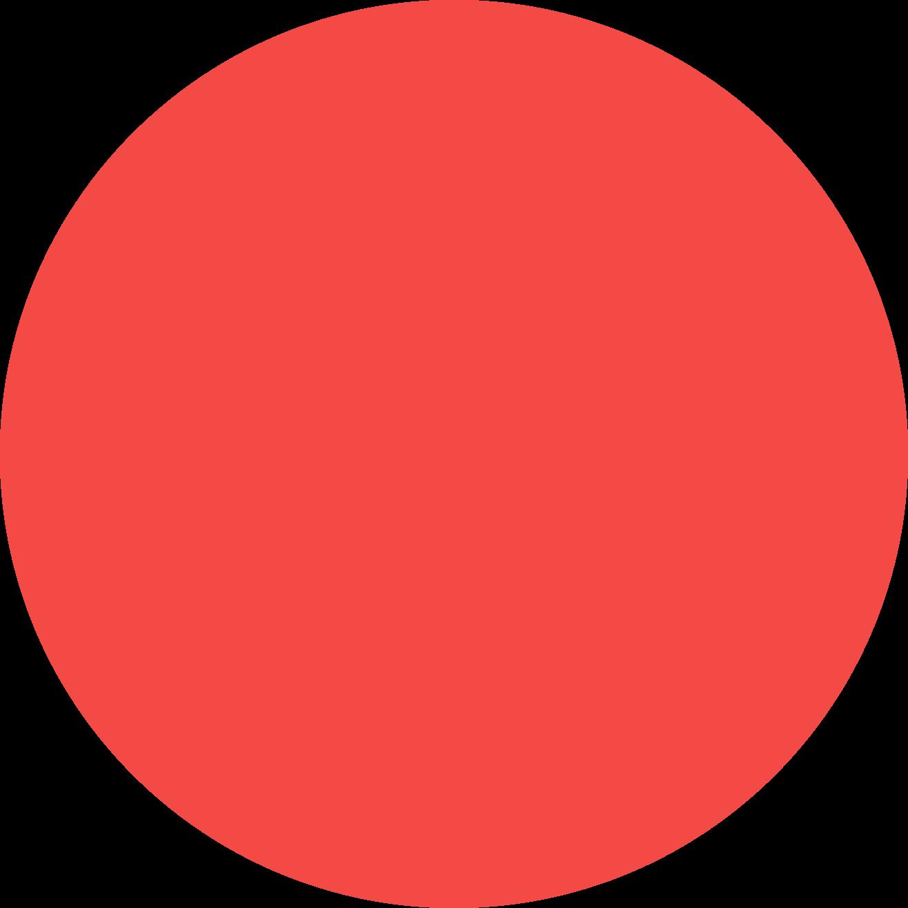 background orange circle