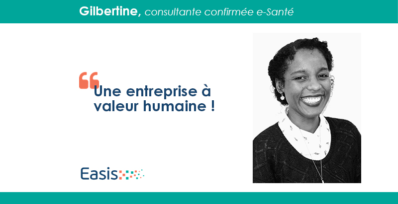 Gilbertine, consultante confirmée e-Santé