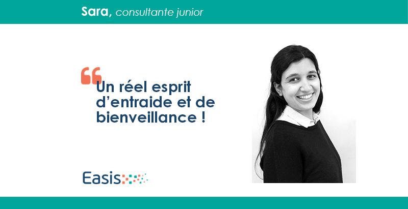 Sara, consultante junior