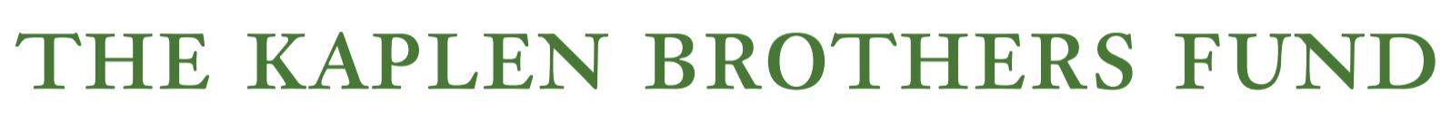 The Kaplen Brothers Fund logo