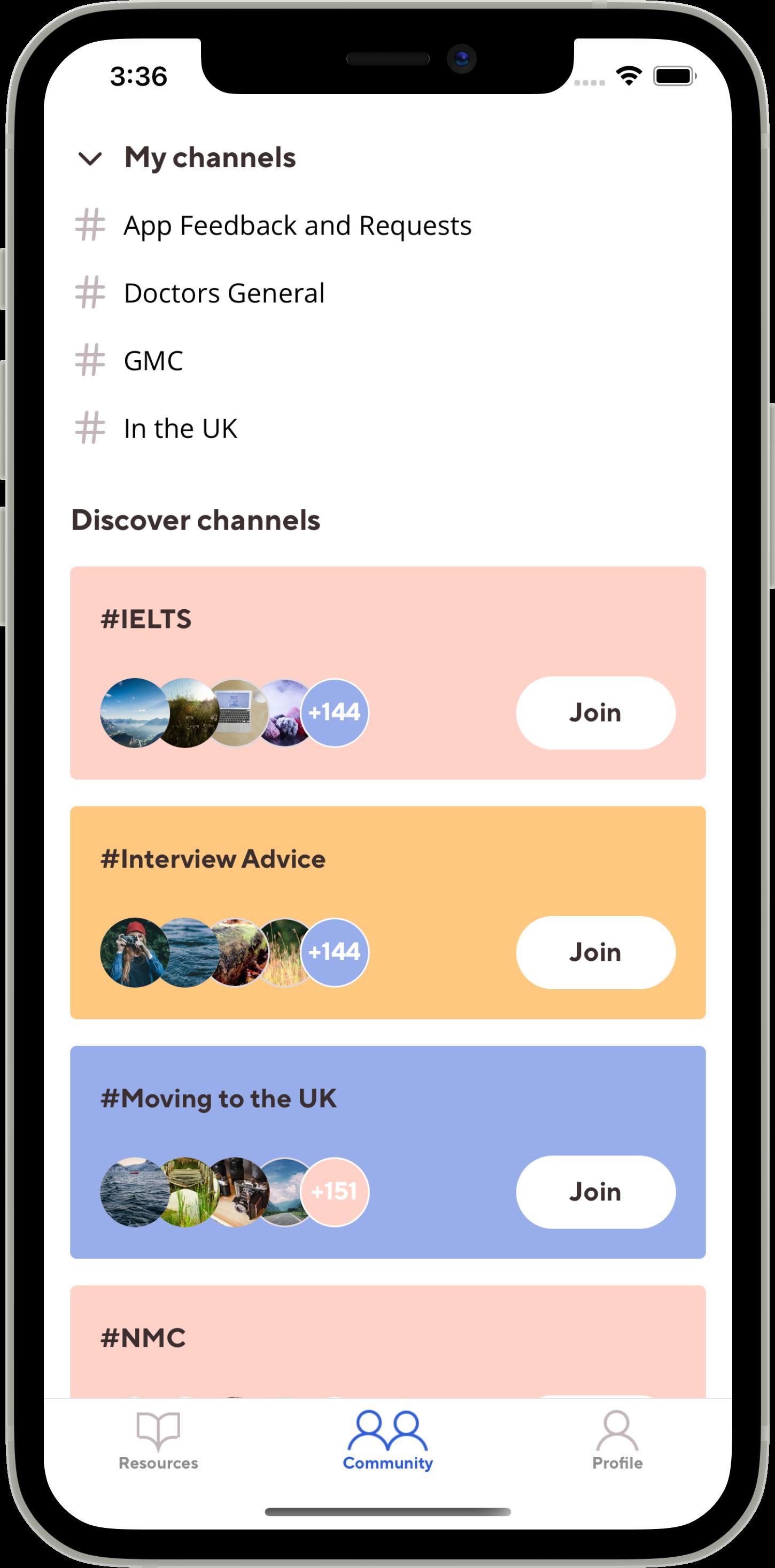 Migrate - The UK healthcare recruitment app