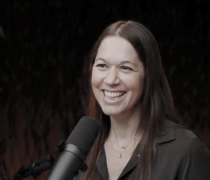 Dr. Rachel Zoffness on a podcast
