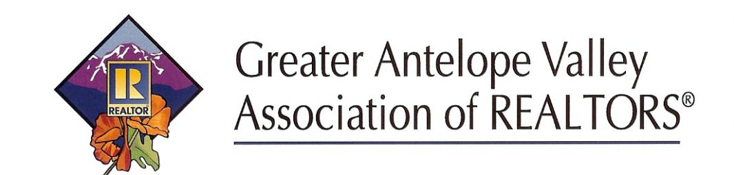 Greater Antelope Valley AOR Logo