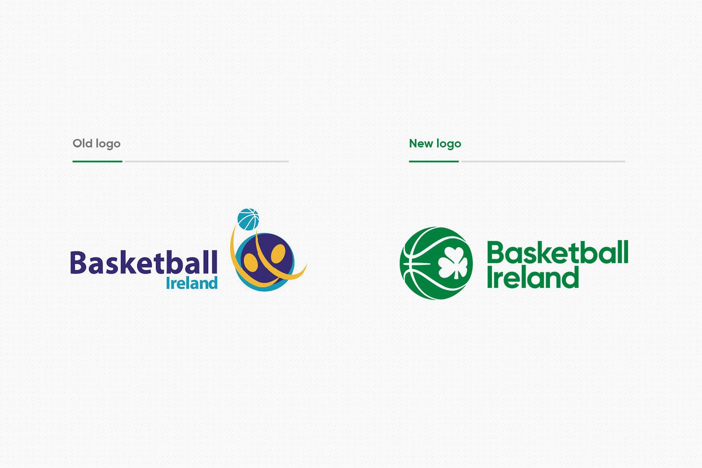 Basketball Ireland logo comparison