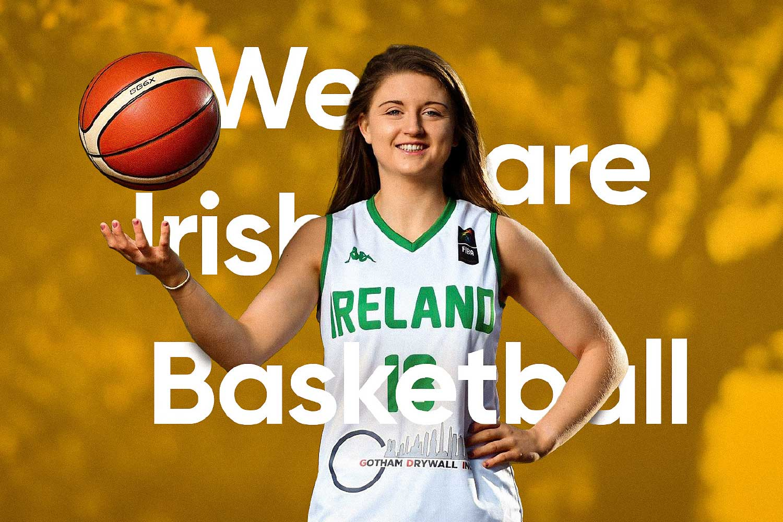 Baskeball Ireland brand image of Mimi Clarke