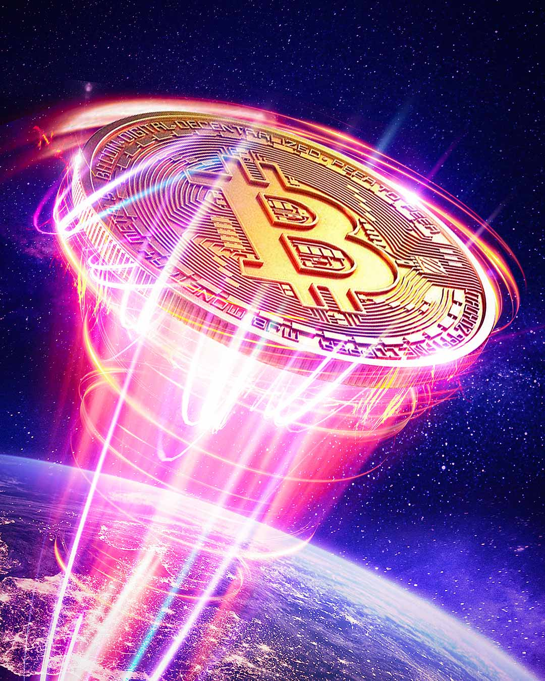 Bitcoin going to the moon