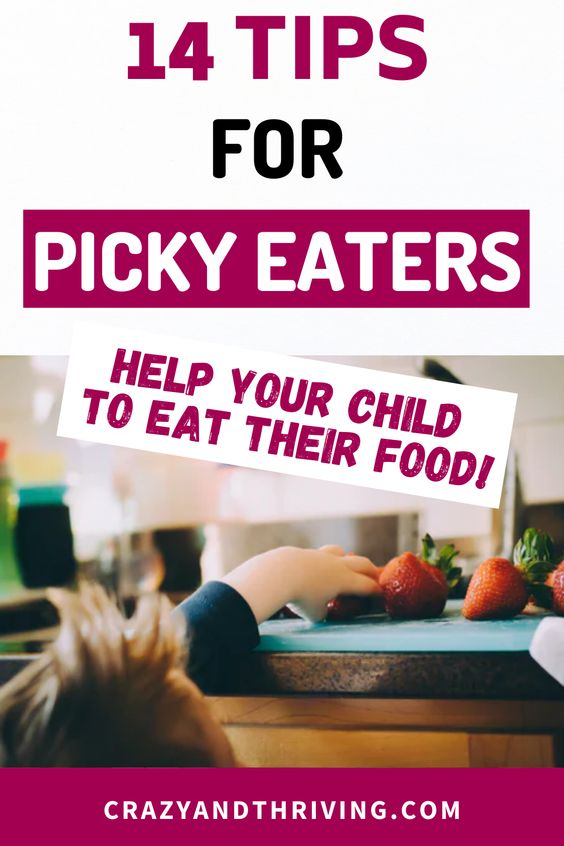 meal tips for picky eaters