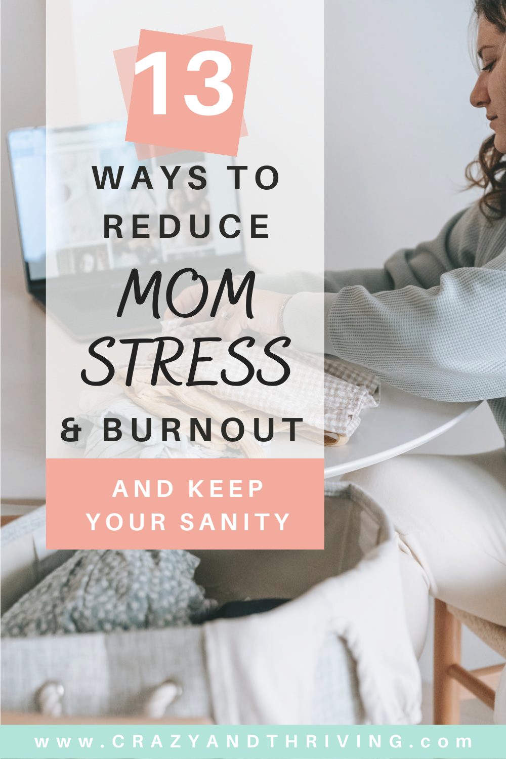 How to reduce stress and burnout as a busy mom