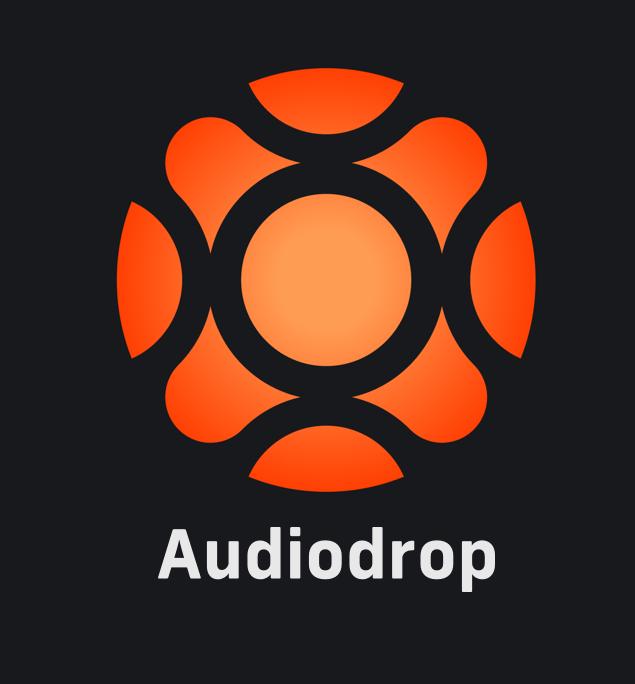 audiodrop logo