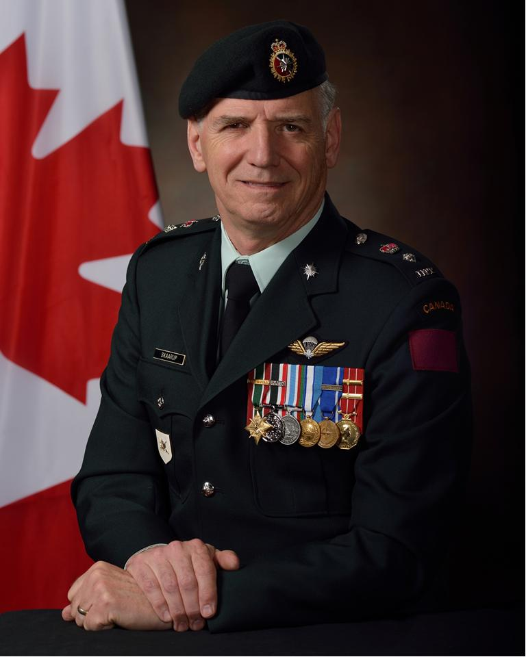 Hal is appointed as the Honorary Lieutenant-Colonel of 3 Intelligence Company