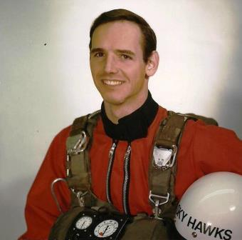 Hal as a member of the Canadian Forces Parachute Team (The Sky Hawks) based at the Canadian Airborne Centre (CABC), CFB Edmonton, Alberta