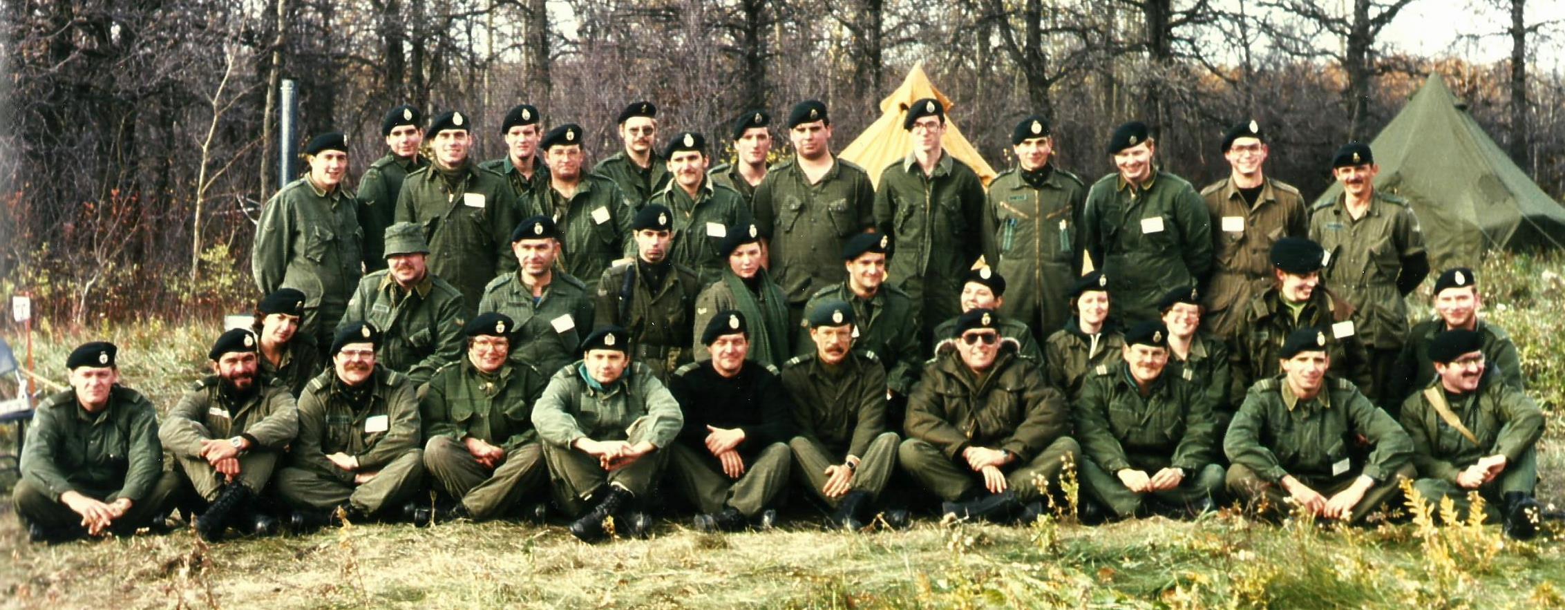Militia Intelligence Concentration, Winnipeg, Manitoba, Nov 1980