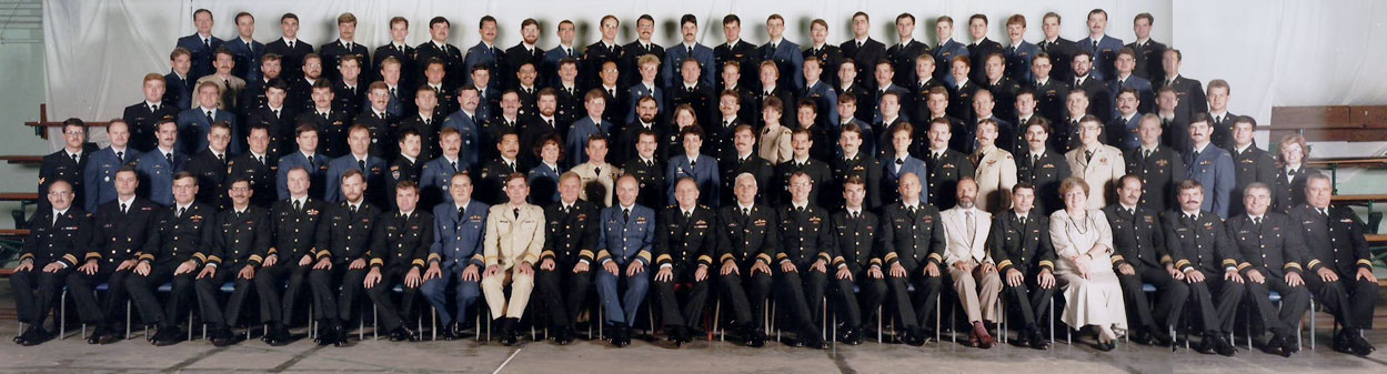 Canadian Forces Staff School Course 69, Toronto, Ontario, Sep 1987