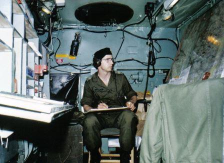 Harold serving as the G2 Operations Officer
