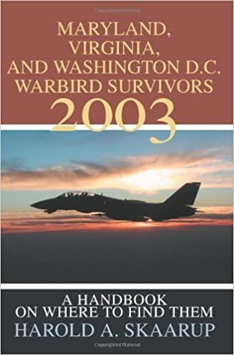 Maryland, Virginia, and Washington D.C. Warbird Survivors 2003: A Handbook on where to find them