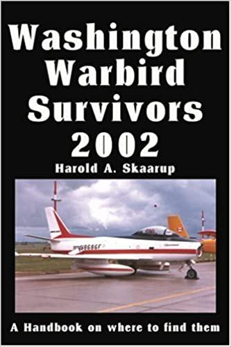Washington Warbird Survivors 2002: A Handbook on Where to Find Them