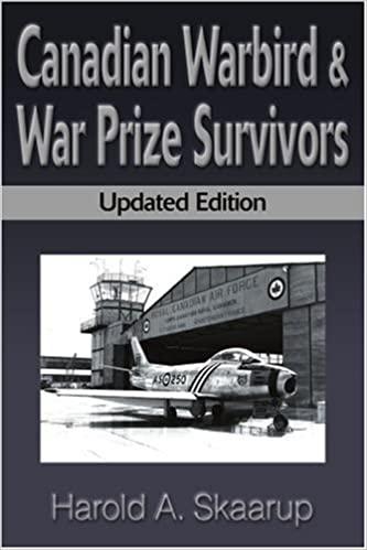 Canadian Warbird & War Prize Survivors, 2000