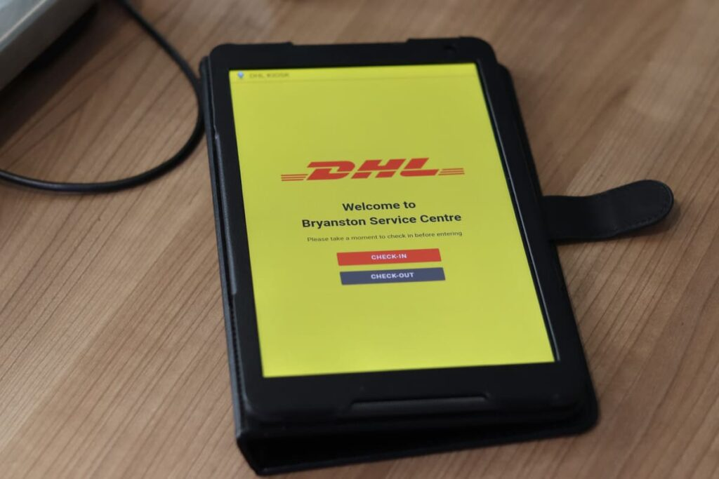 dhl tablet