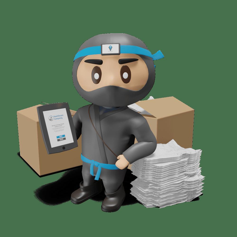 ninja papers