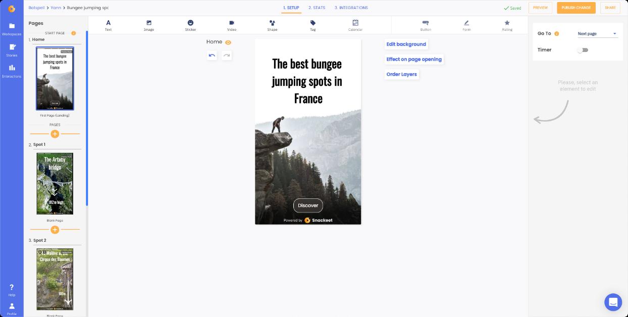 Build Web Stories
