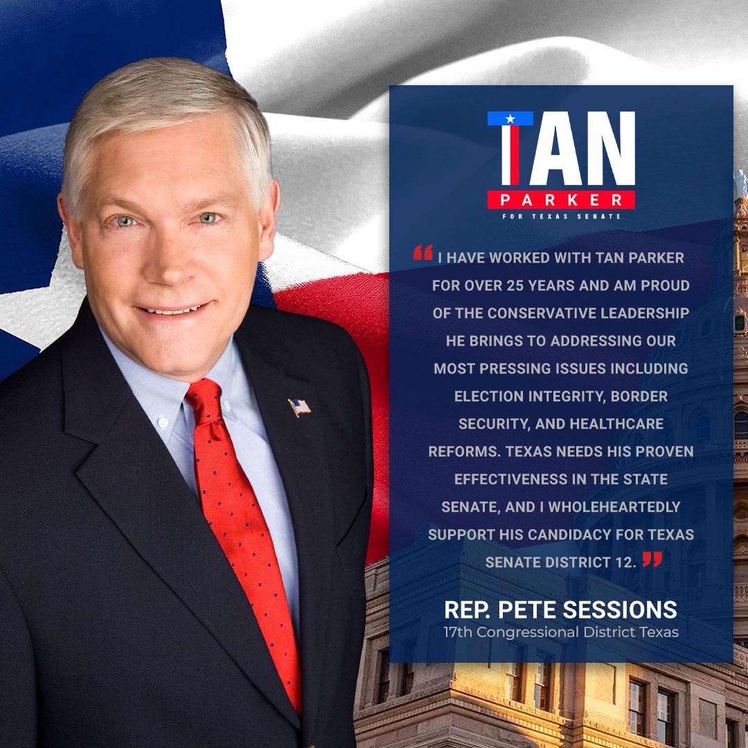 U.S. Representative Pete Sessions