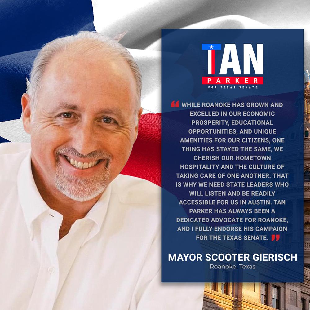 Mayor Scooter Gierisch