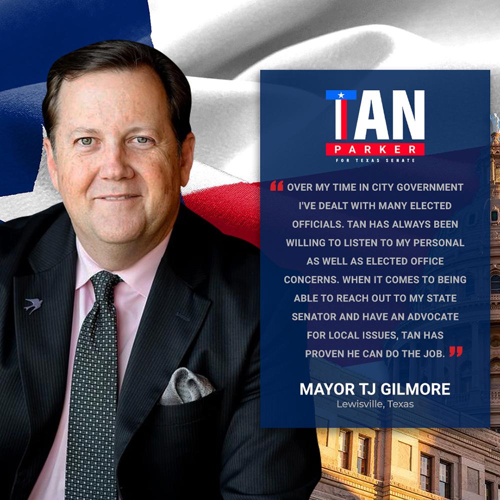 Mayor TJ Gilmore