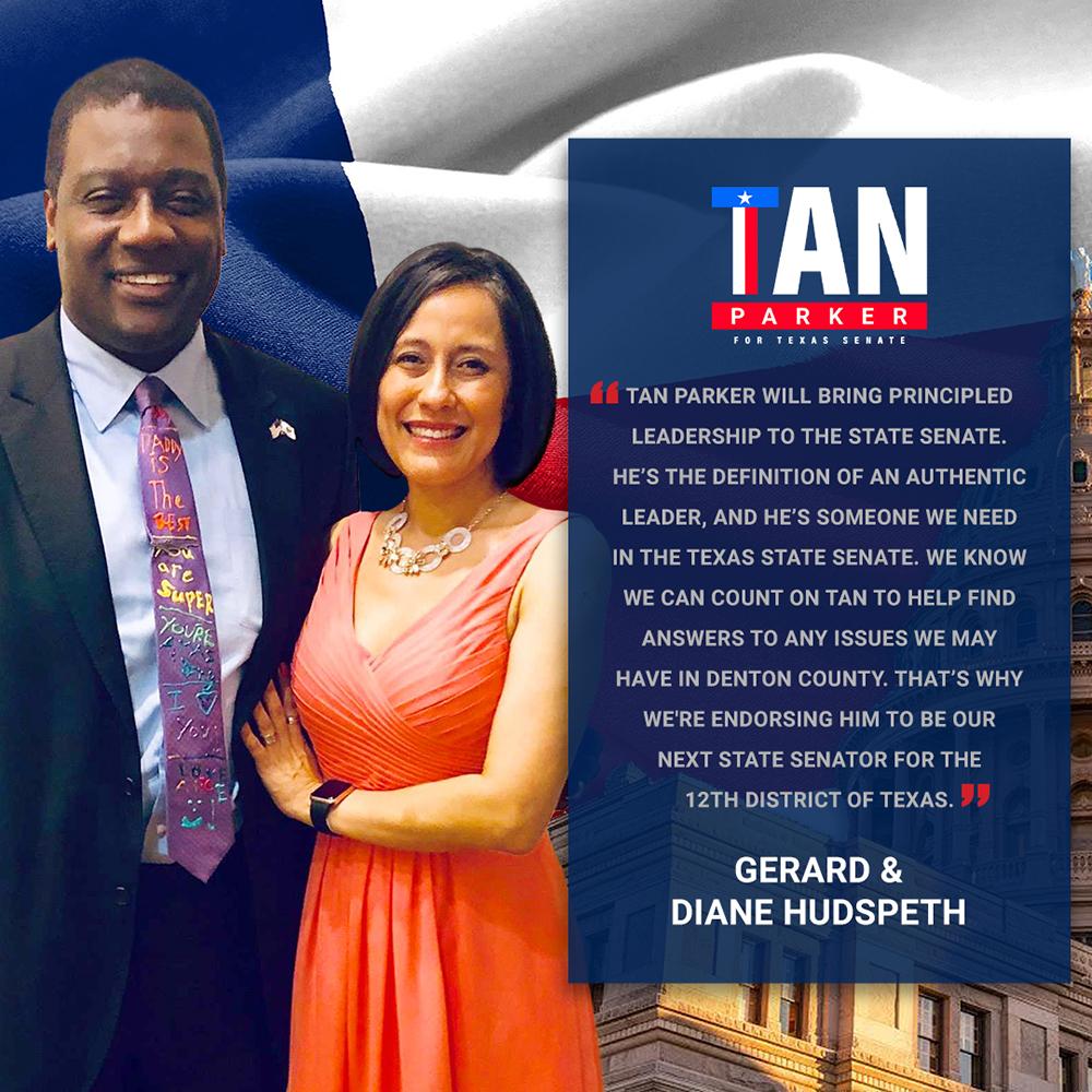 Mayor Gerard & Diane Hudspeth