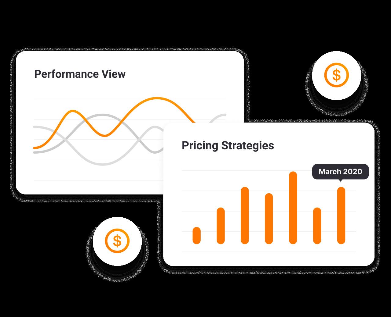 Compruebe cómo otros competidores están exponiendo sus precios. Puede tener el control total de sus precios y gestionarlos en función de las condiciones del mercado.