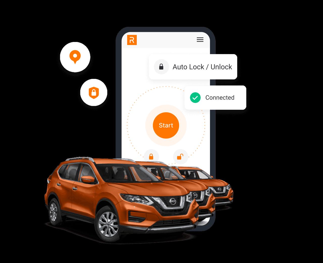 Posibilidad de contar con las últimas herramientas de car sharing del mercado