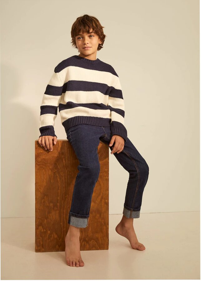 Boy wearing Cashmir
