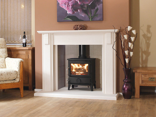 Newman Limestone Fireplace Surrounds