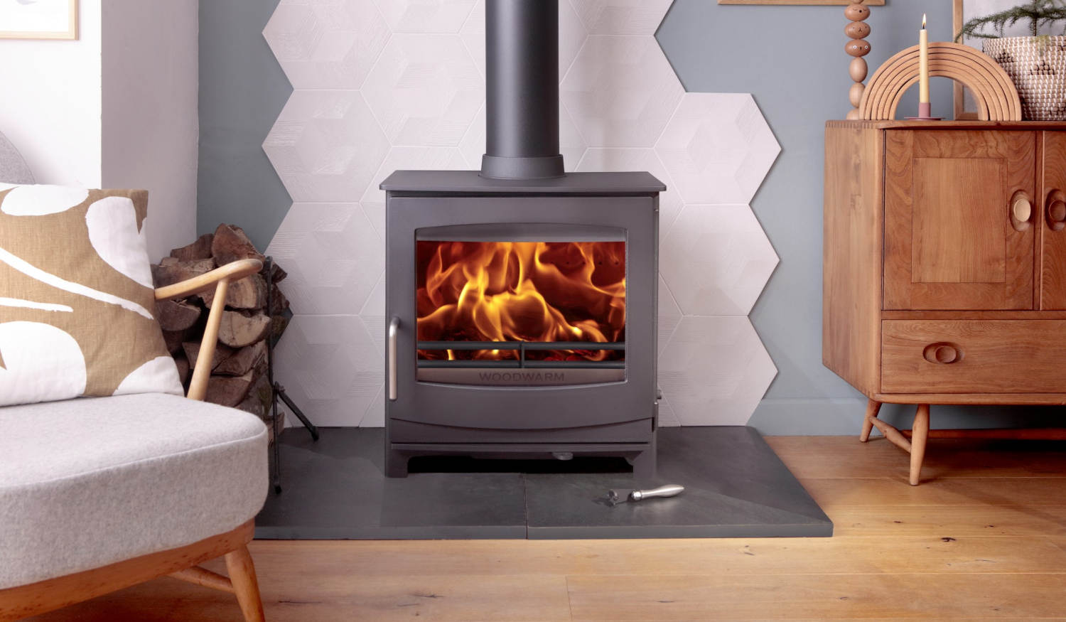 Wood Fireview Eco Stove